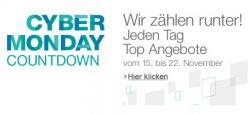 Cyber Monday Countdown-Event – jeden Tag reduzierte Angebote – vom 15.11 bis 22.11