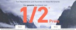 dress for less alles zum halben Preis + 10% bei Newsletteranmeldung@dress-for-less.de