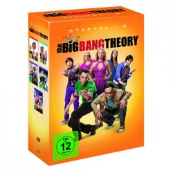 DVD-Box The Big Bang Theory Staffeln 1-5 für 29,95€ zzgl. 4,95€ Versand (Idealo 144,78€) @Real Online Shop
