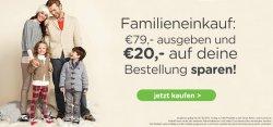 Familieneinkauf bei CROCS für 79,- Euro einkaufen und 20,- Euro Rabatt bekommen + Kostenloser Versand