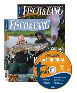 Fisch und Fang Zeitschrift  2x GRATIS  + DVD (keine Kündigung nötig) @Angelplatz.de
