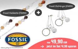 Fossil Schmuck Set mit Halskette und Ohrhänger für nur 49,90€ [Idealo: 56,80€] @xltrade.de