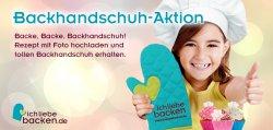 Gratis Backhandschuh @IchLiebeBacken.de