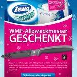 Gratis: beim Kauf von 3 x Zewa Wisch & Weg 1 WMF Allzweckmesser
