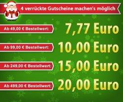 Ho ho ho! bis zu 20€ Frühschenker-Rabatt bei Volkner