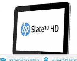 HP Slate 10 HD 3500eg Tablet für 249 Euro (statt 299 Euro Idealo) im HP Store