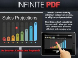 Infinite PDF: Expand Presentations, Reports and eBooks with Interactivity für iPad GRATIS statt 8,99€ @iTunes