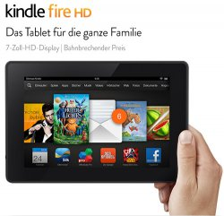 Kindle Fire HD-Tablet mit 8GB für 99,00€ (Idealo 129,00€) @Amazon
