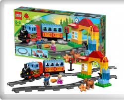 LEGO 10507 – Duplo Eisenbahn Starter Set für 49,59€ und der Preis fällt minütlich oder stündlich 24std. Countdowndeal @spielwelt.de