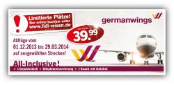 Lidl Billigflüge ab 39,99€ innerhalb Europa inc. 1 Gepäck, Snack, Platzreservierung @lidl-reisen.de