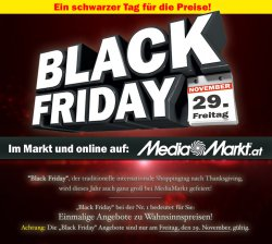 Media Markt Österreich BlackFriday am 29.11@mediamarkt.at
