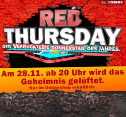 MediaMarkt Red Thursday ab heute 20 Uhr