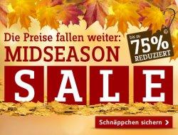 Mid-Season-Sale mit bis zu 75 % Rabatt @ Baur.de, jetzt Schnäppchen sichern