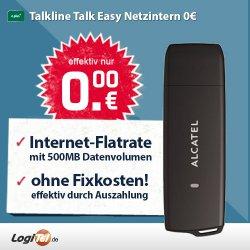 mobile Internet Flat (500 MB) inklusive Alcatel Surf Stick statt 19,90€ für rechnerisch 0€ dank komplette Gebührenerstattung @ebay.de