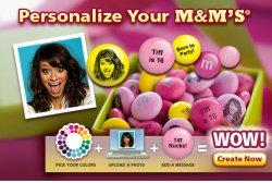 my M&Ms: 20% Gutschein auf die gesamte Bestellung !