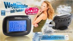 Neuer Mitbestelltipp: Digitale Wetterstation mit Funkuhr GRATIS @pearl.de