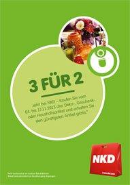 NKD online: 3 Produkte kaufen, günstigstes davon umsonst