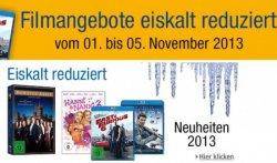 nur vom 1.-5. November: Filmangebote eiskalt reduziert @Amazon, z.B. Fast & Furious 6 (Blu ray) für 11,97 €uro