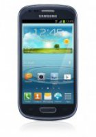 O2 Flat M + Galaxy S3 Mini metallic blue, 8GB  mtl. 4,95@handytick