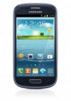 O2 Flat M + Galaxy S3 Mini metallic blue, 8GB  mtl. 4,95@handytick
