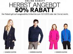 Rabatt bis zu 50% + 25% Gutschein + 5€ Gutschein @H&M