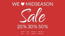 Sale mit 20%, 30% und 50% Rabatt @TOM TAILOR