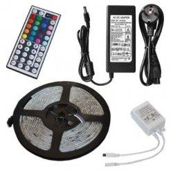 SMD Farbwechsel -Flexible LED-Streifen-Kit + RGB Controller + 24 Schlüssel-Fernbedienung + 12V 3A Netzteil Adapter ab 12,98€ inkl. Versand durch amazon