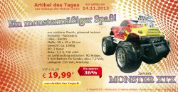 Tagesangebot @ Netto, Jamara Monster XTX für 19,99 €uro statt 31,30 €uro