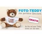 Teddy mit eigenem Foto gratis als Neukunde dank Gutscheincode bei @myprinting
