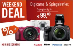 Weekend Deal bei Cyberport mit klasse Digicam Angeboten