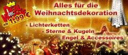 Weihnachtsdeko ab 1,99 €uro + 10 % Gutschein sofort bei Newsletteranmeldung @ jawoll