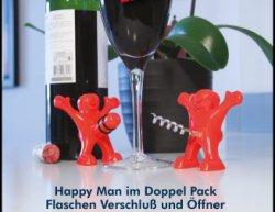 Wichtelgeschenk? Paladone Happy Man im Doppelpack 8,99€ statt 15,60€ @zoombits