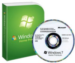 Windows 7 Home Premium 64 Bit DVD deutsch 34,95€ @softwarebilliger
