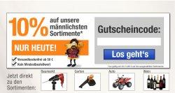 Zum Weltmännertag 10% auf die männlichsten Sortimente mit Gutschein @Plus.de