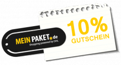 10% Meinpaket Gutschein ab Mindestbestellwert von 1,00€