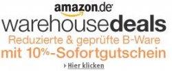10% Sofortgutschein auf Warehousedeals bei Amazon – nur vom 17.12. – 31.12.2013
