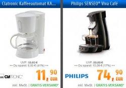 10€ Gutschein (MBW 10€) @billig.de z.B.Bügeleisen für 2,90€, Kaffeemaschine für 1,90€ VSK frei