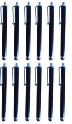 10x Stylus Touch Pen in Schwarz für Tablets & Smartphones für 6€ + 1,45€ Versandkosten
