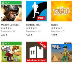 12 Apps für Windows Phone mit 50% Rabatt @Windows-Store