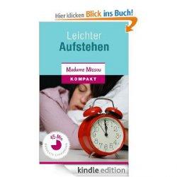 """12 Gratis-Kindle-eBooks, darunter: """"Leichter Aufstehen – 20 Insidertipps für Morgenmuffel"""