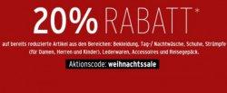 15% Rabatt (nur heute gültig) und 20% Rabatt bis 15.12.2013 bei karstadt.de