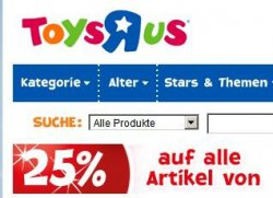 20% auf alle Gesellschaftsspiele bei ToysRUs