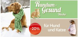 20% auf Tiernahrungsergänzung @myheimtiershop.de