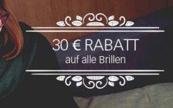 30€ Brillenrabatt @Lensway – z.B. Brillen (mit Stärke) ab 22€