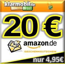 40€ Amazonguthaben für den Kauf von 2x Klarmobil Simkarten für 9,90€ @eBay.de