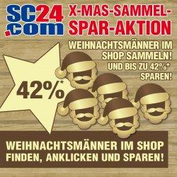 42% auf Markensportartikel @SC24.com – nur am heutigen Dienstag
