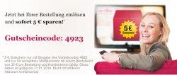 5 Euro Gutschein @ Onlineapotheke zur Rose