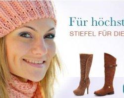 50% Gutscheincode (0€ MBW) bei schuhtempel24 vom 13.–15.12.2013 + bis zu 70% Sale @schuhtempel24.de