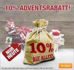Adventsrabatt bei plus.de 10% mit Gutscheincode @plus