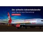 airberlin Adventskalender: Jeden Tag ein neuer Reisedeal